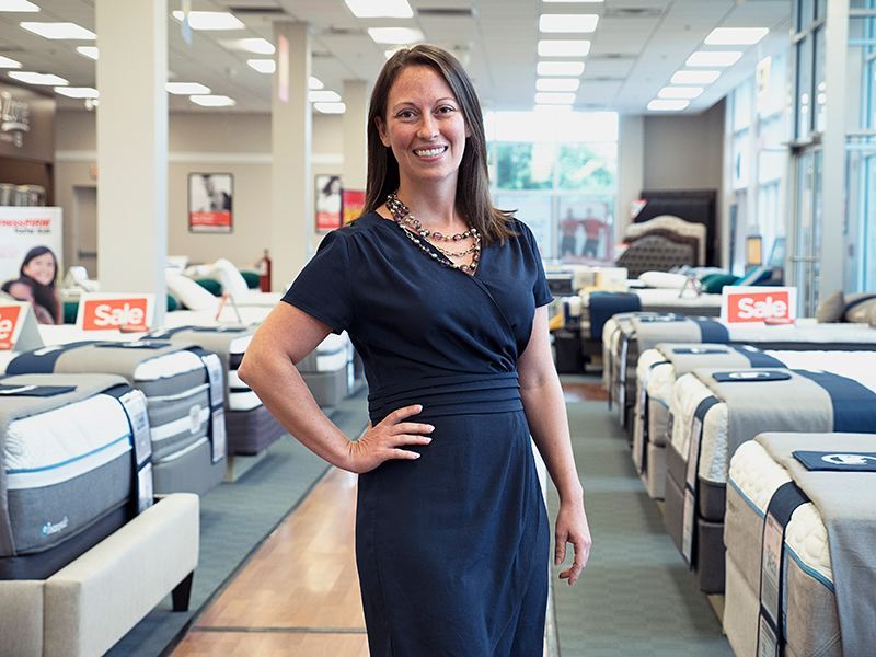 Kindel Elam, Executive Vice President and General Counsel, Mattress Firm